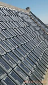 Fotovoltaické střešní tašky